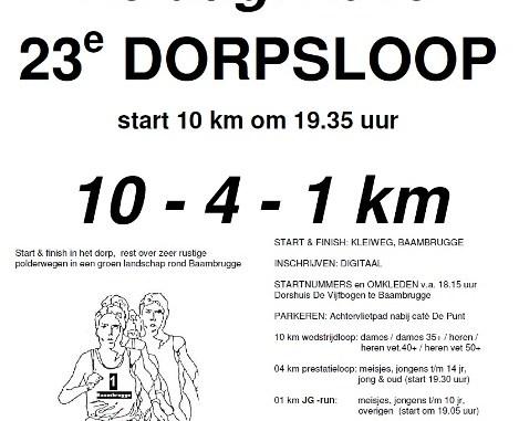 Baambrugge Dorpsloop2013
