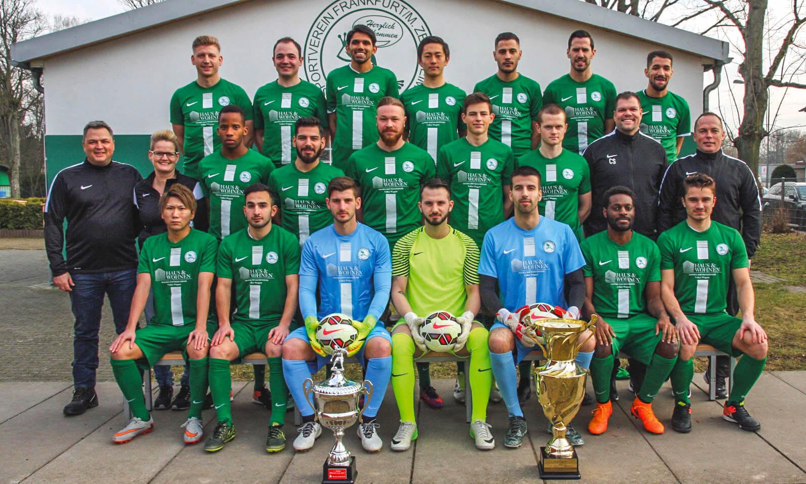 1. Mannschaft des SV 1919 Zeilsheim in der Saison 2016/2017