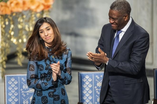Nadia Murad, Denis Mukwege, Nobel Peace Prize