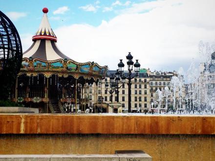 Paris France Carosel