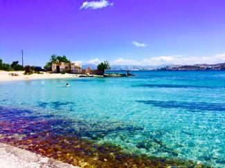 Paros Kolimbithres beach