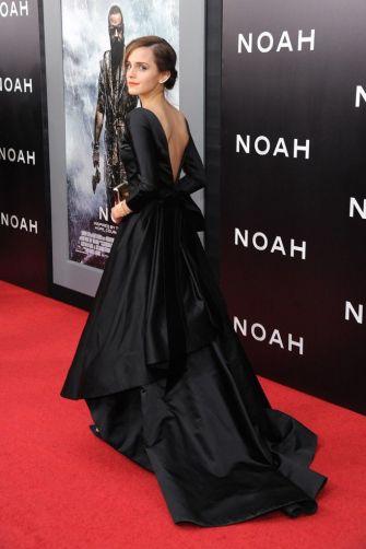 Noah Premiere 2014 in Oscar de la Renta