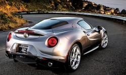 Alfa Romeo 4C Coupe Grey Behind