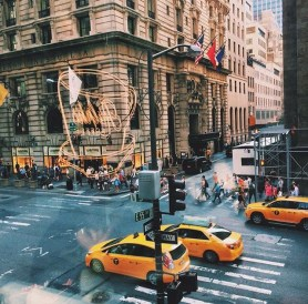 View of Fifth Avenue from Ralph's Coffee
