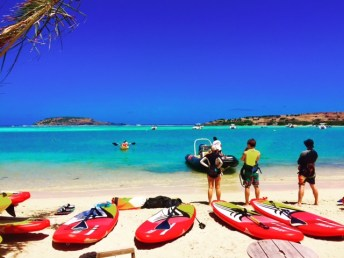 Paddle Board_Grand Cul de Sac_Pool_St Barth_French West Indies_Travel Guide