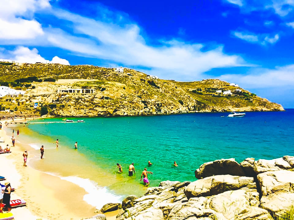 Travel Guide to Mykonos_What to do_Where to Stay_Mykonos Island_Greece_3 day itinerary_blog_Paradise Beach_hike_ocean view_cliff_party island
