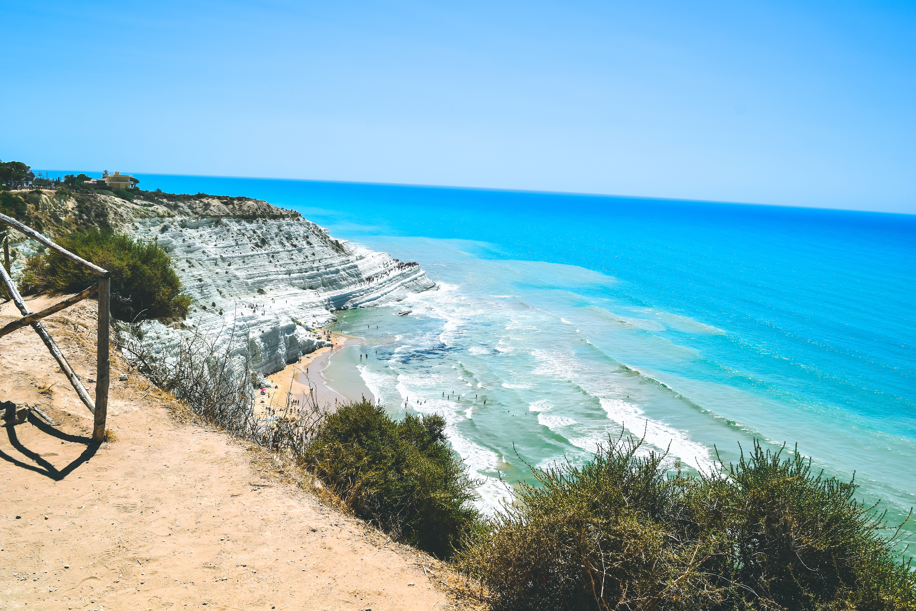 Travel guide to sicily scala dei turchi agrigento what to do see italy best time of year-22