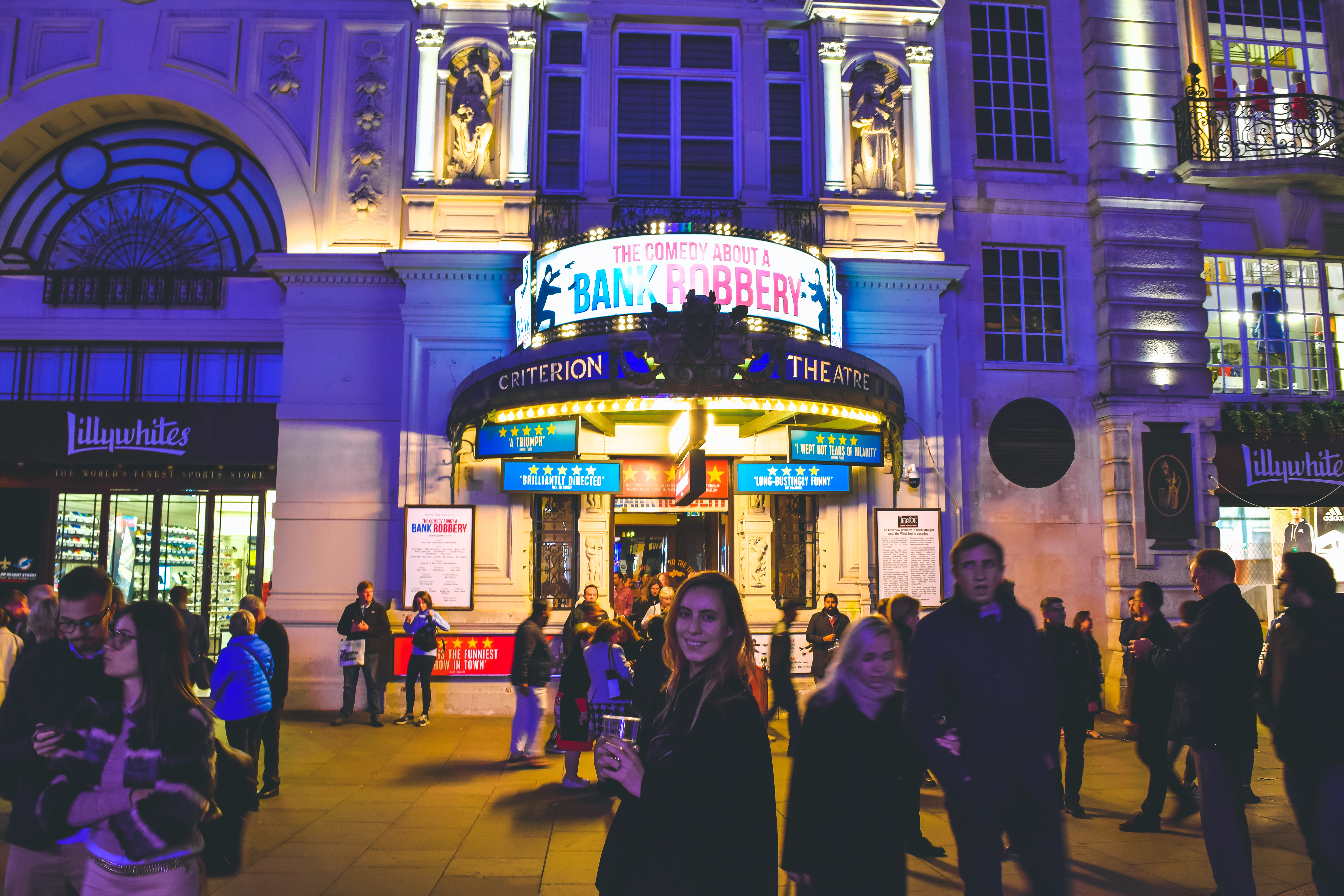 West End Theatre Comedy About A Bank Robbery Travel guide to london uk blog what to do what to see where to go 3 days-45