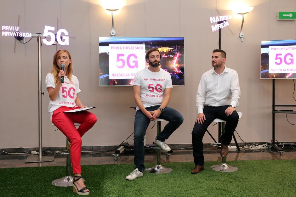 Pula: T-Com predstavio 5G mrežu | Autor: Goran Kovacic/PIXSELL