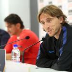 Rijeka: Dalić i Modrić održali konferenciju za medije nogometne reprezentacije