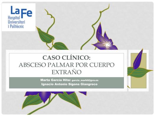 CASO_CLINICO_SVAMC_ ABSCESO_PALMAR