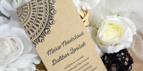Jak se vyrábí svatební oznámení?