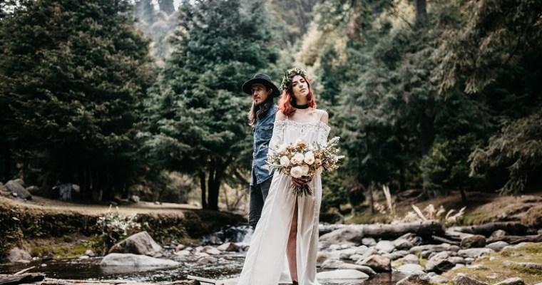 Boho svatba snů