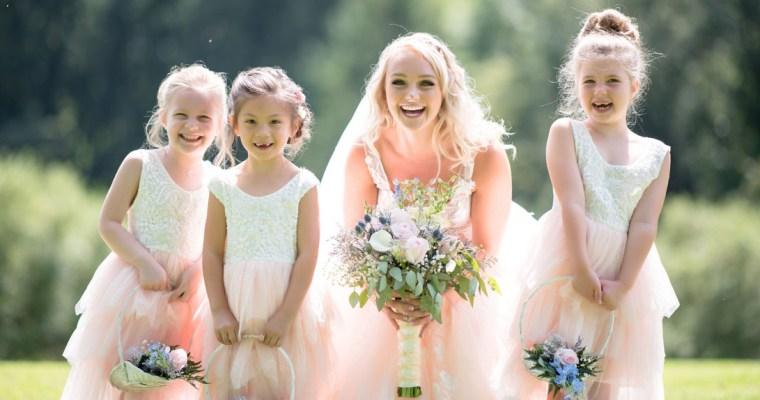 Zábava pro děti na svatbě – venkovní aktivity