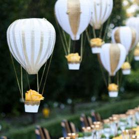 Svatební dekorace – inspirace pro svatbu