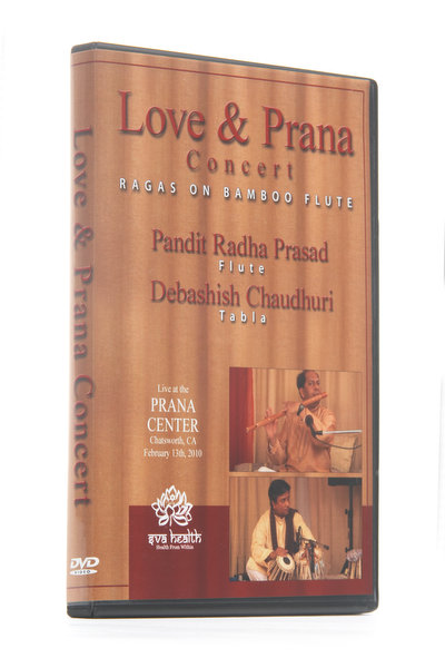 Love and Prana Concert Ragas on Bamboo Flute Video DVDs