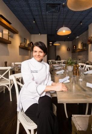 Divya Alter, owner of Divya's Kitchen. PHOTO: Emily Assiran for Observer