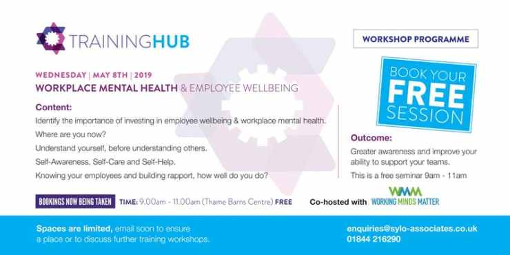 https://www.eventbrite.co.uk/e/workplace-mental-health-and-employee-wellbeing-tickets-58568594242