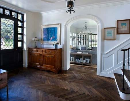 wood floor designs for entry