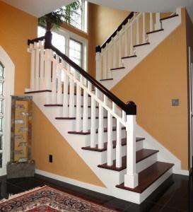 3 Stunning Examples Of Hardwood Floor Staircases Svb Wood Floors | Wood Floors And Stairs | Beautiful | Wood Plank | Oak | House | Wood Flooring