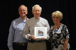 Volunteer of the Year Award winner Ken Kirn