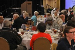 Scene during St. Vincent de Paul Louisville's 2018 Volunteer Appreciation Luncheon at the Crowne Plaza Hotel in Louisville, KY. May 10, 2018 (by Frankie Steele/St. Vincent de Paul Louisville)