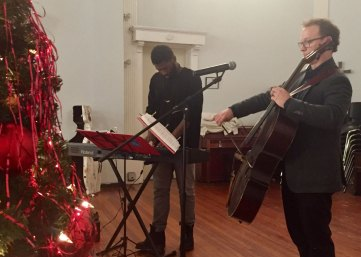 Louisville Public Media Holiday Concert with Ben Sollee at the Open Hand Kitchen