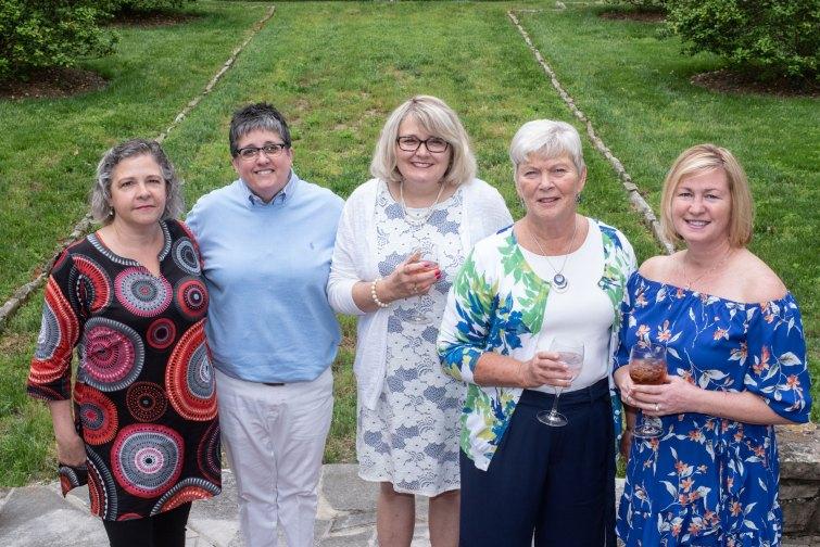 Susie Conley, Sandy Woods, Cory Knepp, Judy Buckman and Debbie Sussman. Photo by Andrea Hutchinson, courtesy of The Voice-Tribune.
