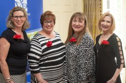 Eleanor Hawkins, Carey Coleson, Mary Spencer and Patty Weeks. Photo by Andrea Hutchinson, courtesy of The Voice-Tribune.
