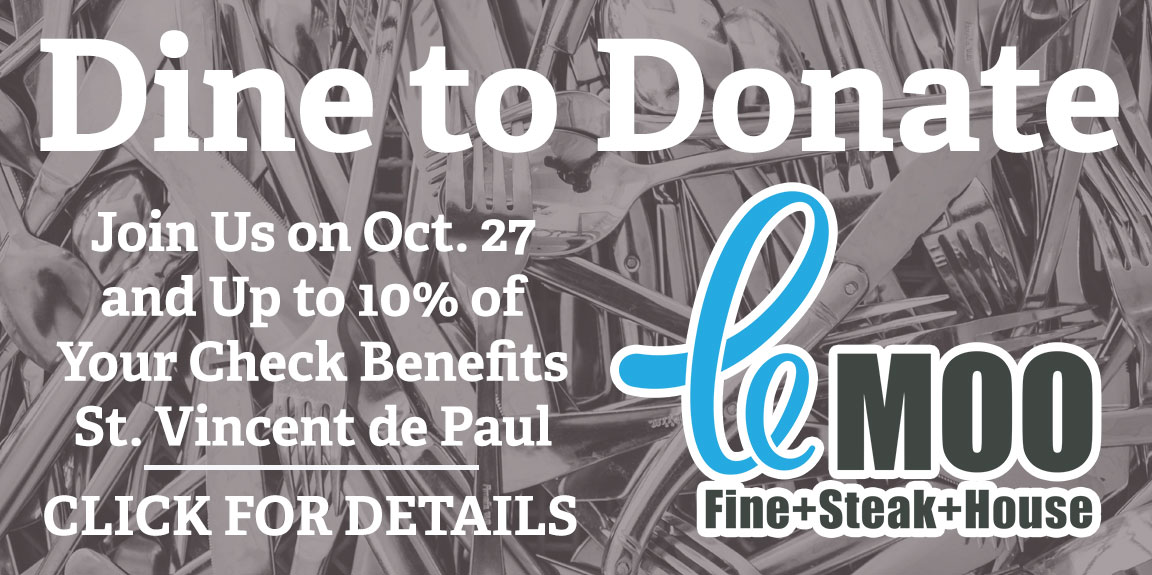Dine to Donate | Le Moo