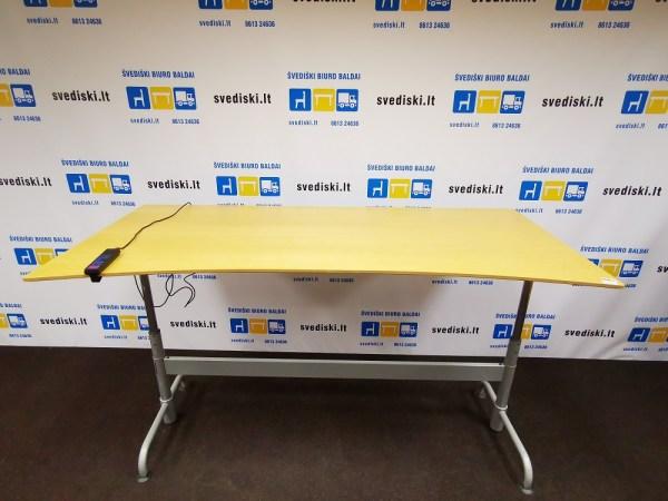 Švediški lt. swedstyle reguliuojamo aukščio stalas su atmintimi Švedija