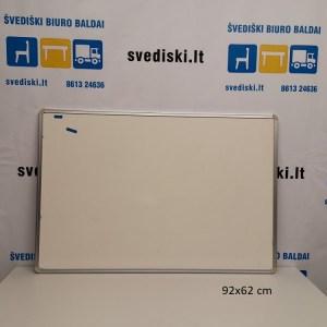 Švediški lt. Balta Magnetinė Lenta 92x62 cm, Švedija