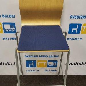 Svediski.lt Klaessons Mobler AB Modeliuotos Beržo Faneros Baro Kėdės, Švedija