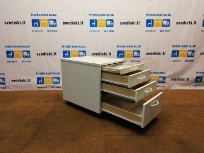 Lanab Design Rakinamas Baltas 4 Stalčių Blokas, Švedija