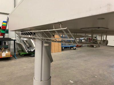Mechaniškai Reguliuojamas Stalas Su 150x90cm Stalviršiu, Švedija