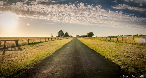 wanddecoratie, foto, canvas, staal, hout, print, muur, aan, de, ophangen, kunst, fotografie, Australië, weg, rijden, vrijheid, zonsondergang