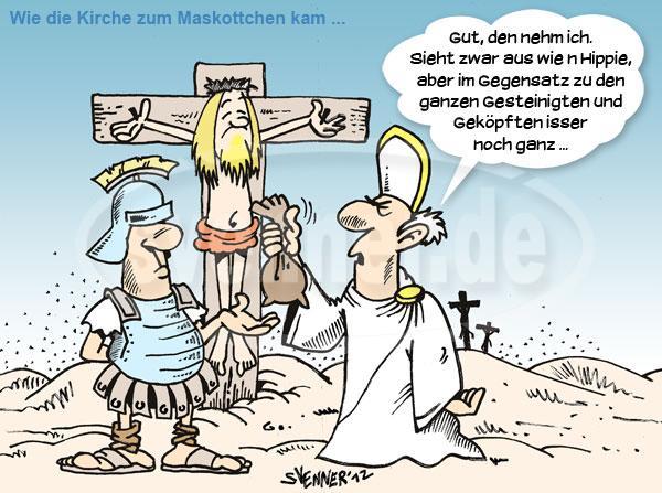 Abendmahl Von Volkertoons Religion Cartoon Toonpool