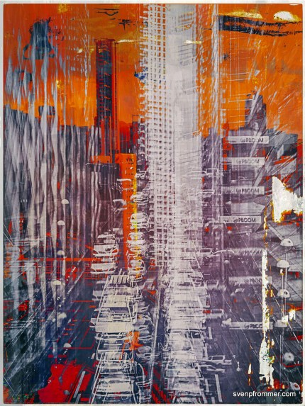 Urban Arch Manila - Mixed Media Works by Sven Pfrommer