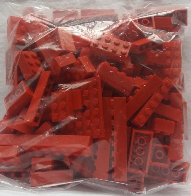 Lego Steine Rot