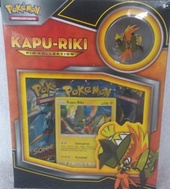 Pokemon-Kapu-Riki (Pin-Kollektion)