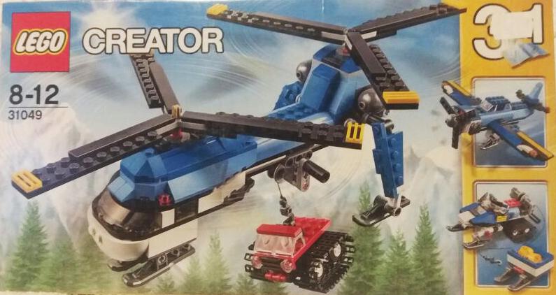 Lego 31049 Creator Doppelrotor-Hubschrauber