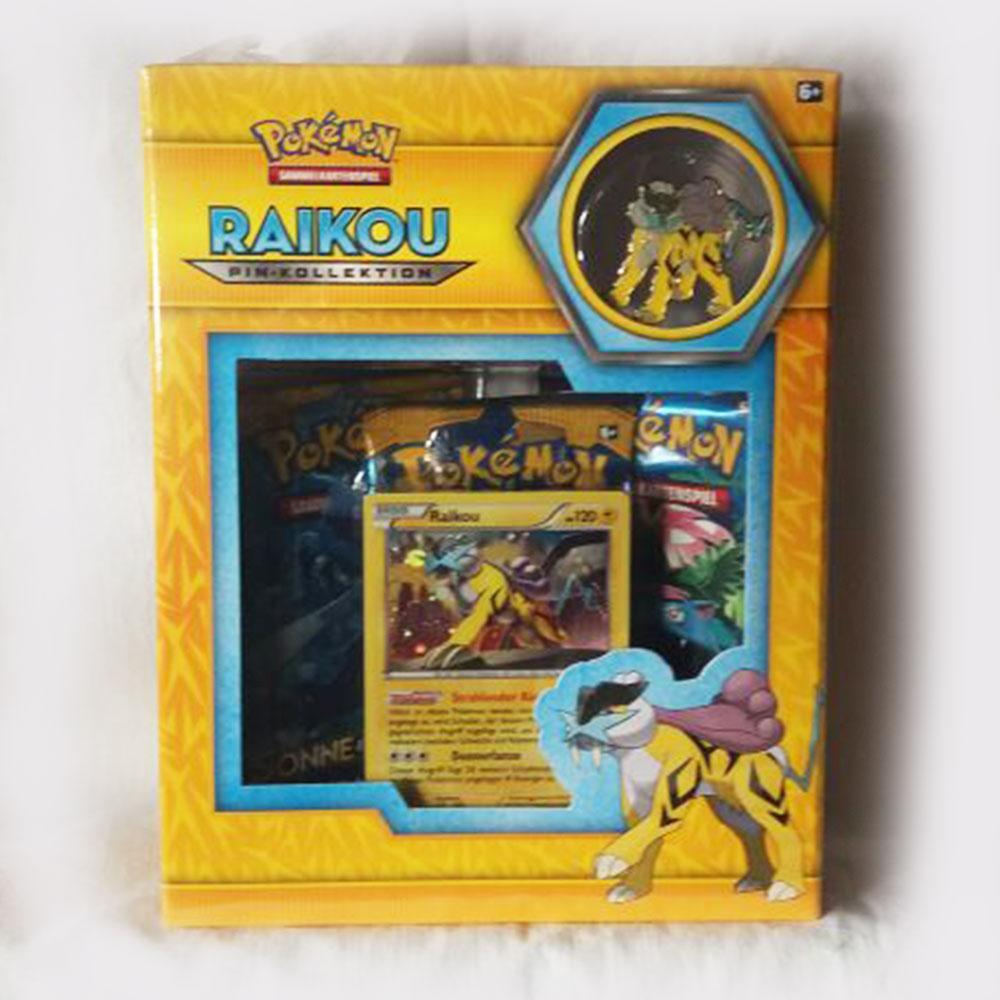 Pokémon Pin Box – Raikou – Deutsch