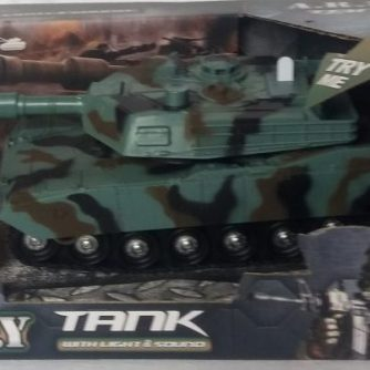 A.R.M.Y Tank with Light and Sound