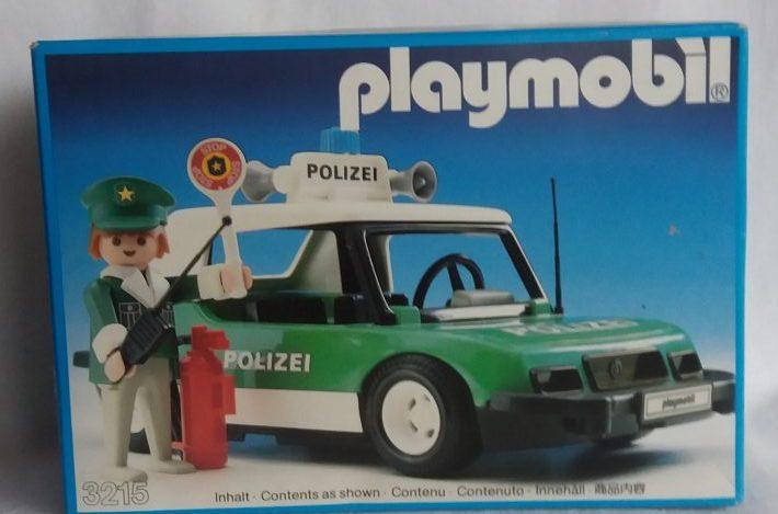 Polizeiauto von Playmobil