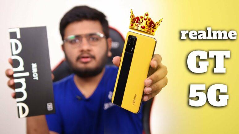 realme GT Unboxing    Snapdragon 888,120HZAmoled et 12 Go de RAM!