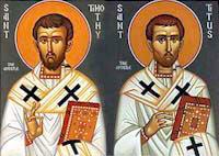 26.1. – sv. Timotej i Tit, biskupi
