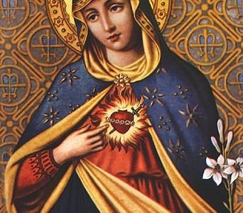 24.6. – Bezgrešno Srce Marijino