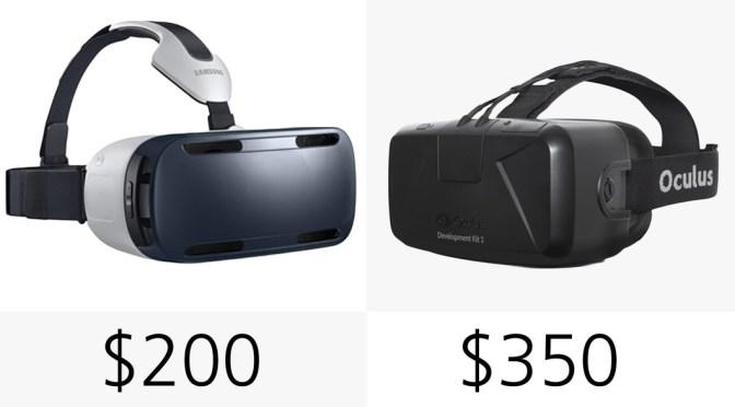 Price for Headset Oculus Rift will be around 300dollars