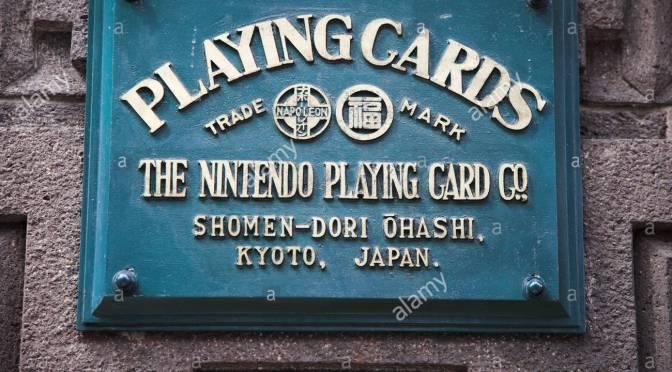 Nintendo,nastanak,istorija, karte za igranje i jakuze
