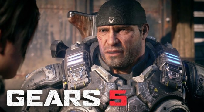 Gears of War 5 extended trailer